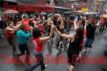Realtor Rain Dance